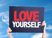 Love Yourself card — Stock Photo