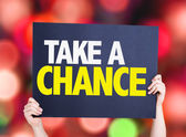 Take a Chance card — Stock Photo