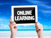 Text Online Learning — Stock Photo