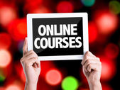 Text Online Courses — Stock Photo