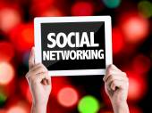 Text Social Networking — Stock Photo