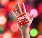 Dengue Kills sign — Stock Photo