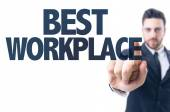Text: Best Workplace — Stock Photo