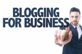 Text: Blogging for Business — Stock Photo