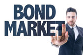 Text: Bond Market — Stock Photo