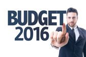 Text: Budget 2016 — Stock Photo