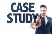 Text: Case Study — Stock Photo