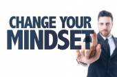 Text: Change Your Mindset — Stock Photo