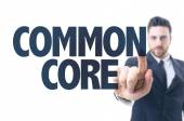 Text: Common Core — Stock Photo