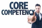 Text: Core Competency — Foto Stock