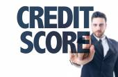 Text: Credit Score — Stock Photo