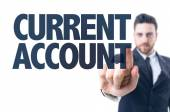 Text: Current Account — Stock Photo
