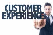 Text: Customer Experience — Stock Photo