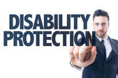 Text: Disability Protection — Stock Photo