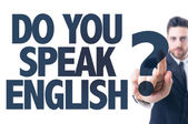 Text: Do You Speak English? — Foto de Stock