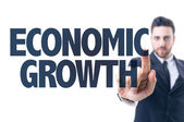 Text: Economic Growth — Stock Photo