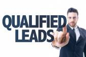 Text: Qualified Leads — Stock Photo