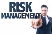 Text: Risk Management — Stock Photo