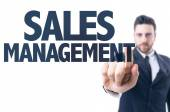 Text: Sales Management — Stock Photo