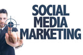 Testo: Social Media Marketing — Foto Stock