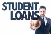 Text: Student Loans — Stock Photo