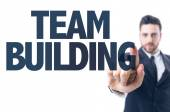 Text: Team Building — Stock Photo
