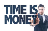 Text: Time is Money — Stock Photo