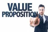 Text: Value Proposition — Stock Photo