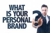 Text: What Is Your Personal Brand? — Zdjęcie stockowe