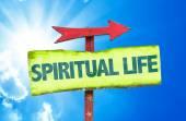 Spirituelles Leben-Zeichen — Stockfoto