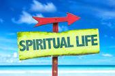 Spiritual Life sign — Stock Photo