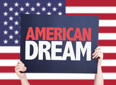 American Dream card — Stock Photo