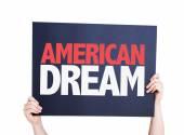 American Dream card — Stock Photo