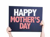 Happy Mothers Day card — Stock Photo
