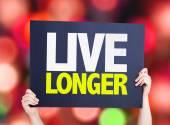 Live Longer card — Stock Photo