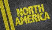 North America on the road — Stock Photo