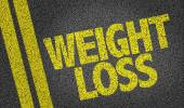 Weight Loss text — Stock Photo
