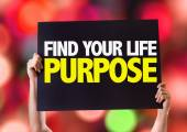 Find Your Purpose card — Stock Photo
