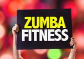 Zumba Fitness card — Stock Photo