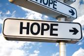 Hope direction sign — Stock Photo