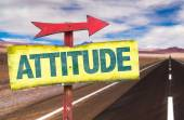 Attitude text sign — Stock Photo
