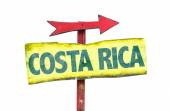 Costa Rica text sign — Stock Photo