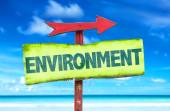 Environment text sign — Stock Photo