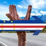 Cape Verde Flag wooden sign — Stock Photo #73424155