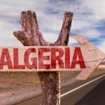 Algeria wooden sign — Stock Photo #73421147