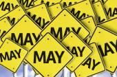 May road signs — Stock Photo