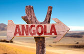 Angola wooden sign — Stock Photo