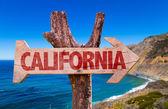 California text sign — Stock Photo