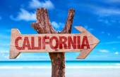 California text sign — Stock Photo