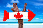 Kanada träskylt — Stockfoto